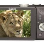 Canon Powershot SX200 IS (Back)