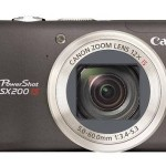 Canon Powershot SX200 IS (Front)