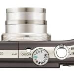 Canon Powershot SX200 IS (Top)