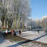 IJspret in het Wilhelminapark (Jan Sekuur)