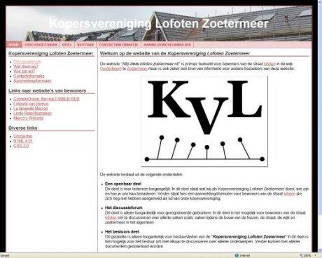 Kopersvereniging Lofoten Zoetermeer