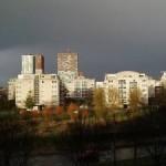 Storm dreigt boven Zoetermeer (Elly van Orsouw)