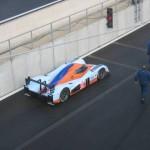 De Lola Astin Martin 007 van Aston Martin Racing