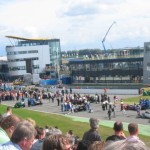 Drukte op de Champ Car start grid