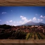 Pompeji en Vesuvius