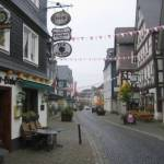 De oude stad van Bad Laasphe