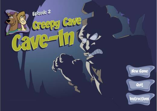Scooby Doo; Episode 2 - Creepy Cave Cave-In