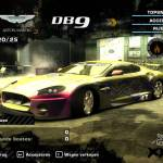 Aston Martin DB9 - Need For Speed Most Wanted - The Yellow Eye