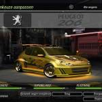 Peugeot 206 - Need For Speed Underground 2 - 2 Fast 4 U