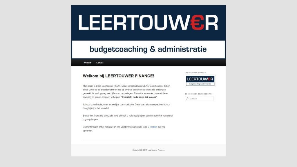 Leertouwer Finance - Budgetcoaching & Administratie