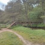 In de uitlopers van het Nationaal Landschap Drentsche Aa staat deze brug over de Drentsche Aa.
