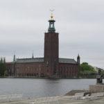 Het Stadhuis van Stockholm is een erg fraai gebouw met een nog veel mooiere toren ernaast.