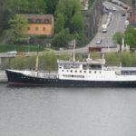 In de Kronprinsessan Martha was het Loginn Hotel (Botel) gevestigd. Een hele mooie boot, die ook nog eens op een hele mooie locatie lag.