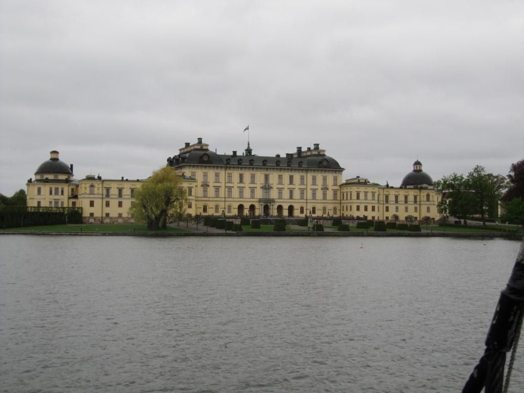 Het Drottningholm Palace is erg indrukwekkend, zoals deze foto goed laat zien.