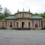 In de paleistuinen van Drottingholm Palace staat dit Chinees Paviljoen dat compleet te bezichtigen is.