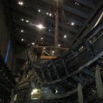 In het Vasamuseet staat dit geborgen schip uit plusminus 1600 om bewonderd te worden. Het museum is eigenlijk om het schip heen gebouwd.