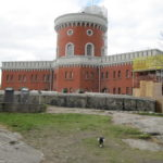 Op één van de eilandjes van Stockholm staat dit leuke en zeer kleine fort.