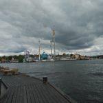 In Stockholm staat ook het pretpark Gröna Lund Tivoli. Toen wij er waren was het helaas gesloten.