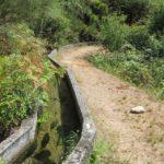 Tijdens de wandeling kwamen we een heel eind langs deze fraaie Levada te wandelen.