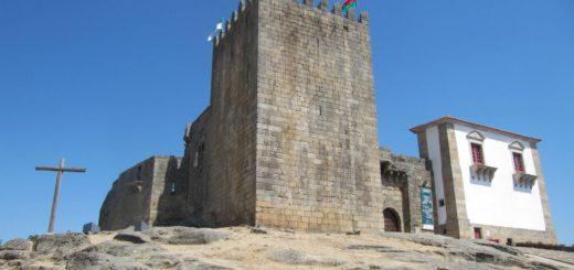 Het kasteel van Paco dos Cabrais in Belmonte.