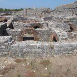 In Conimbriga staan deze restanten van een groot badhuis.