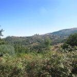 Een mooi uitzicht op Linhares. In het midden van de foto zie je het kasteel.