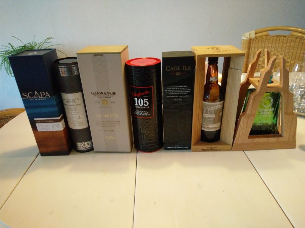 Little Whisky Tasting