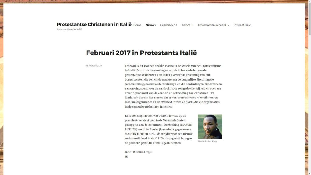 Protestantse Christenen in Italië