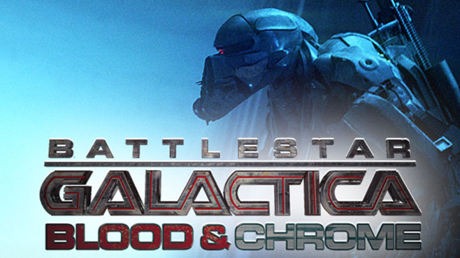 Film : Battlestar Galactica : Blood & Chrome (2012)