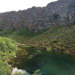 Fraaie Basaltmuur
