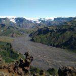 Uitzicht in Thórsmörk