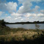 Het Duinmeer gezien vanuit de vogelhut.