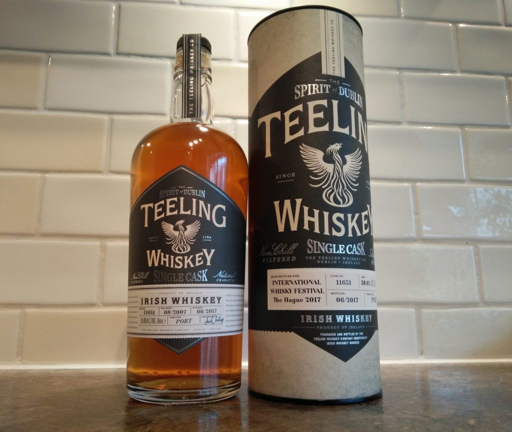 Teeling Whisky Single Cask for International Whisky Festival 2017