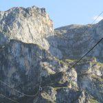 Bij Fuente De was er deze kabelbaan met welke wij twee keer omhoog en één keer omlaag gegaan zijn.