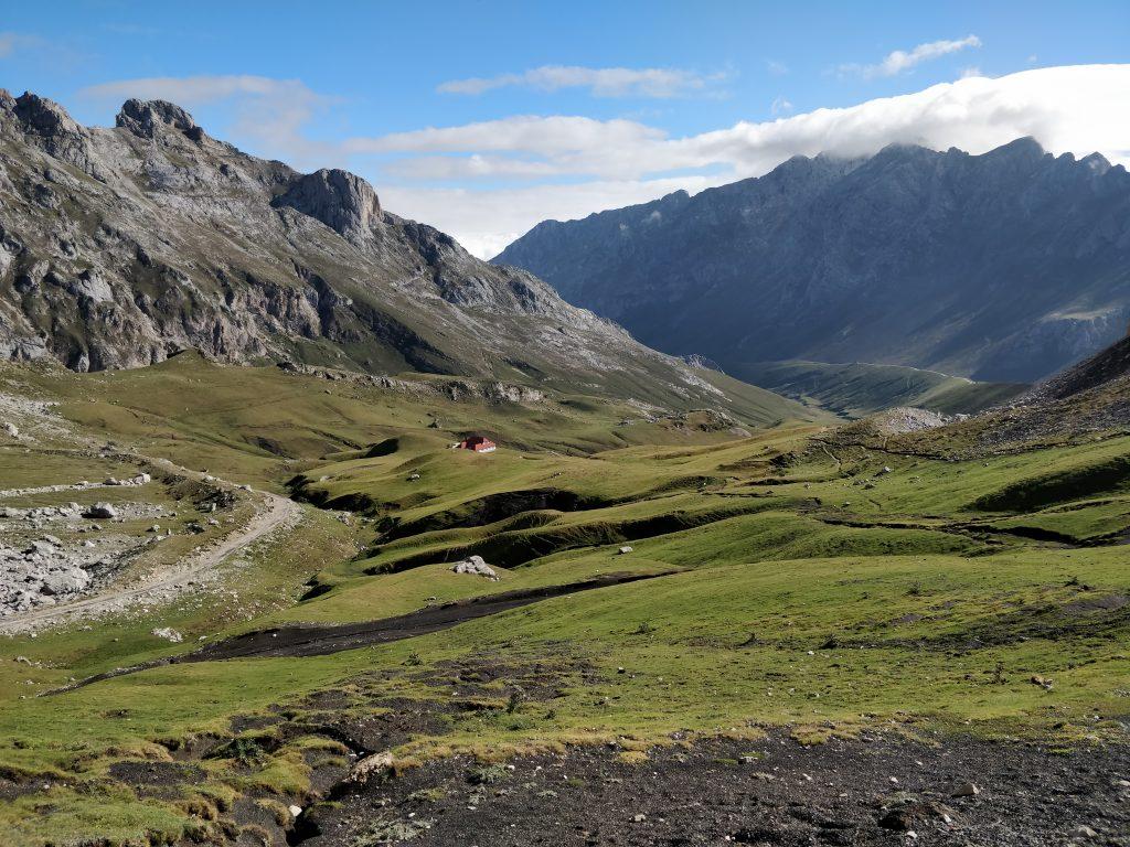 Een heel fraai uitzicht met ook een goede blik op het pad dat wij nog moesten wandelen.