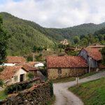 De wandeling startte in dit fraaie dorpje met dit fraaie uitzicht.