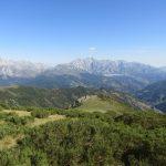 Ook weer een heel fraai uitzicht over de bergen.