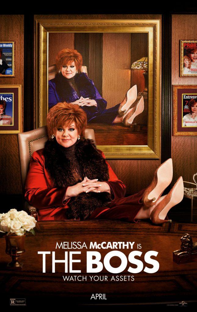 Film : The Boss (2016)