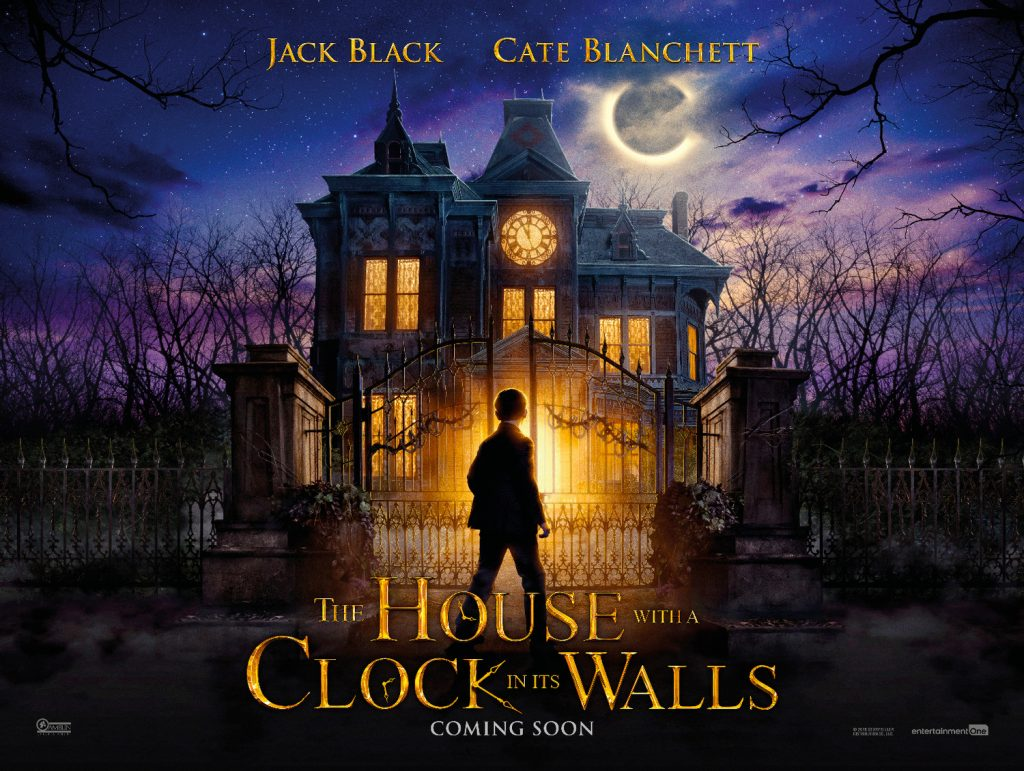 Film : The House with a Clock in Its Walls (2018)