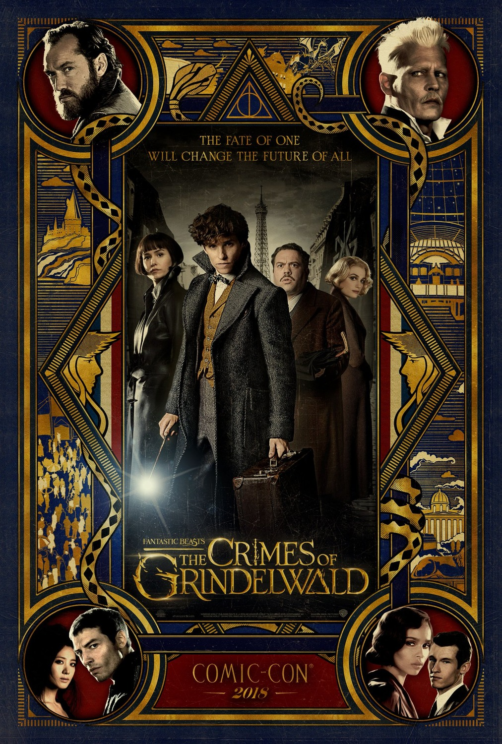 Film : Fantastic Beasts - The Crimes of Grindelwald (2018)