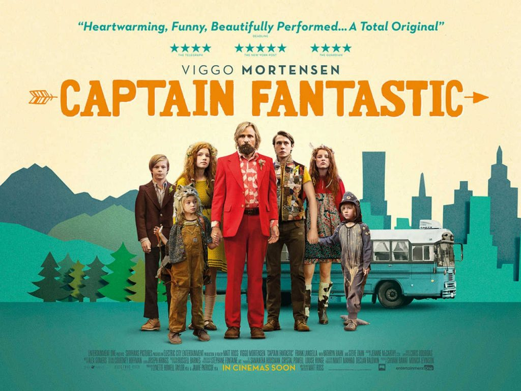 Film : Captain Fantastic (2016)