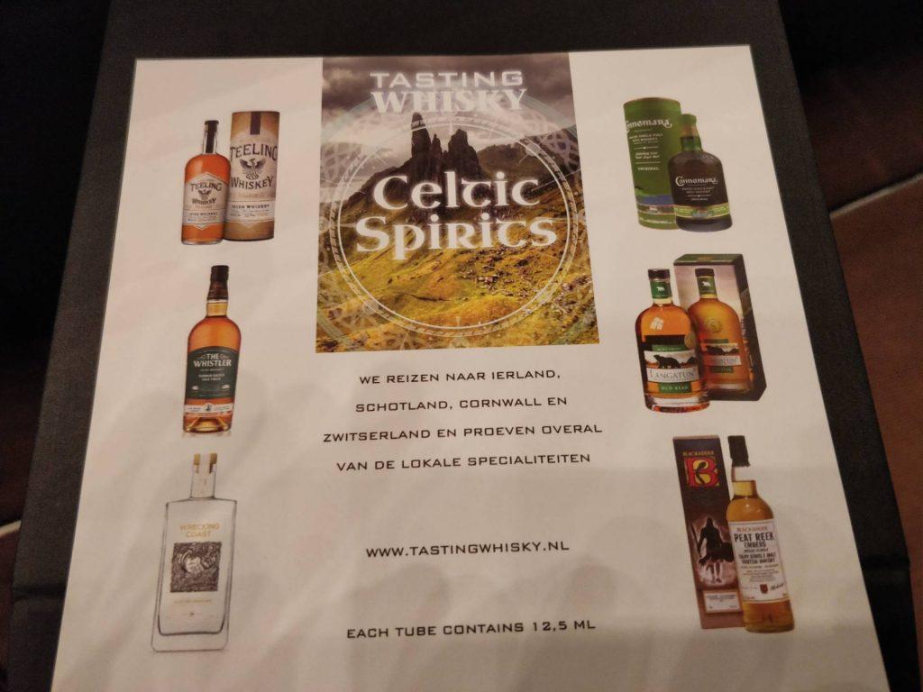 Tasting Tubes : The Whiskies