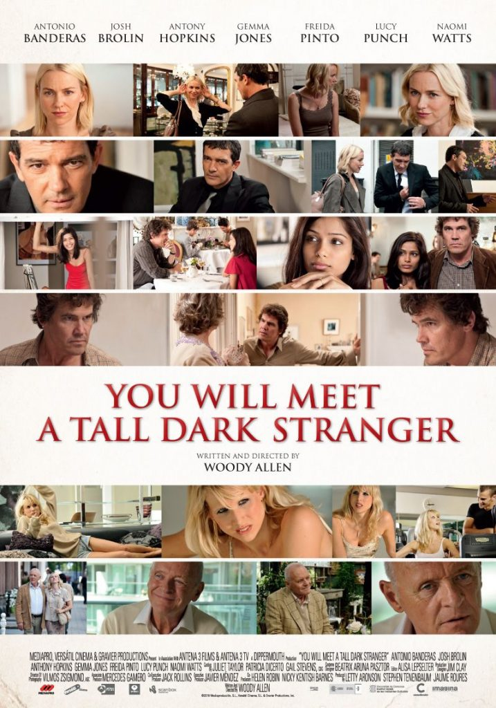 Film : You Will Meet a Tall Dark Stranger (2010)