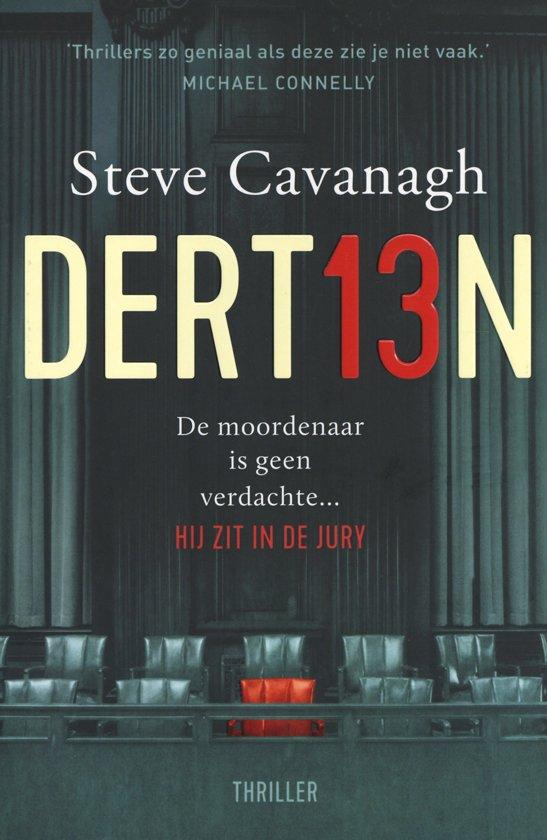 Boek : Steve Cavanagh - Dert13n