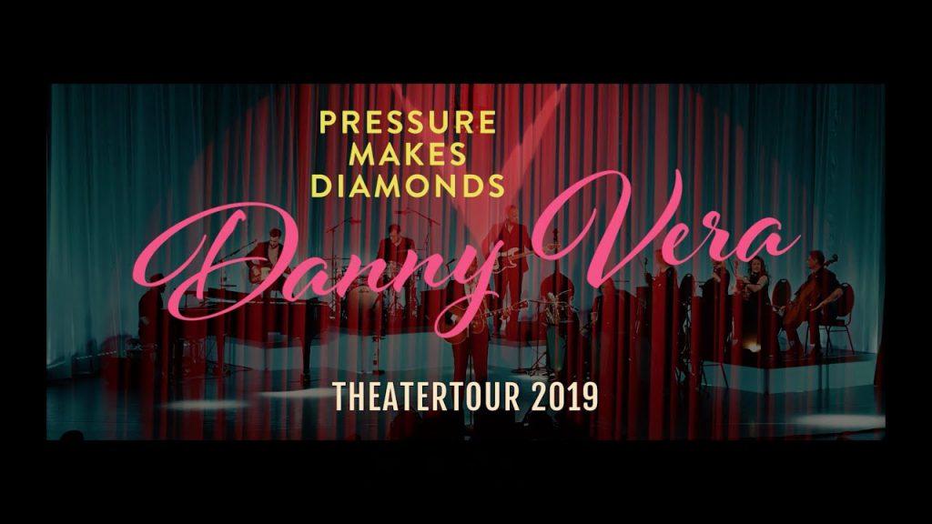 Danny Vera - Pressure Makes Diamons Theater 2019 (Publiciteit)