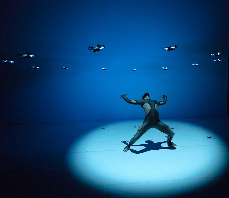 Dansvoorstelling : Another Kind of Blue - Flirt with Reality