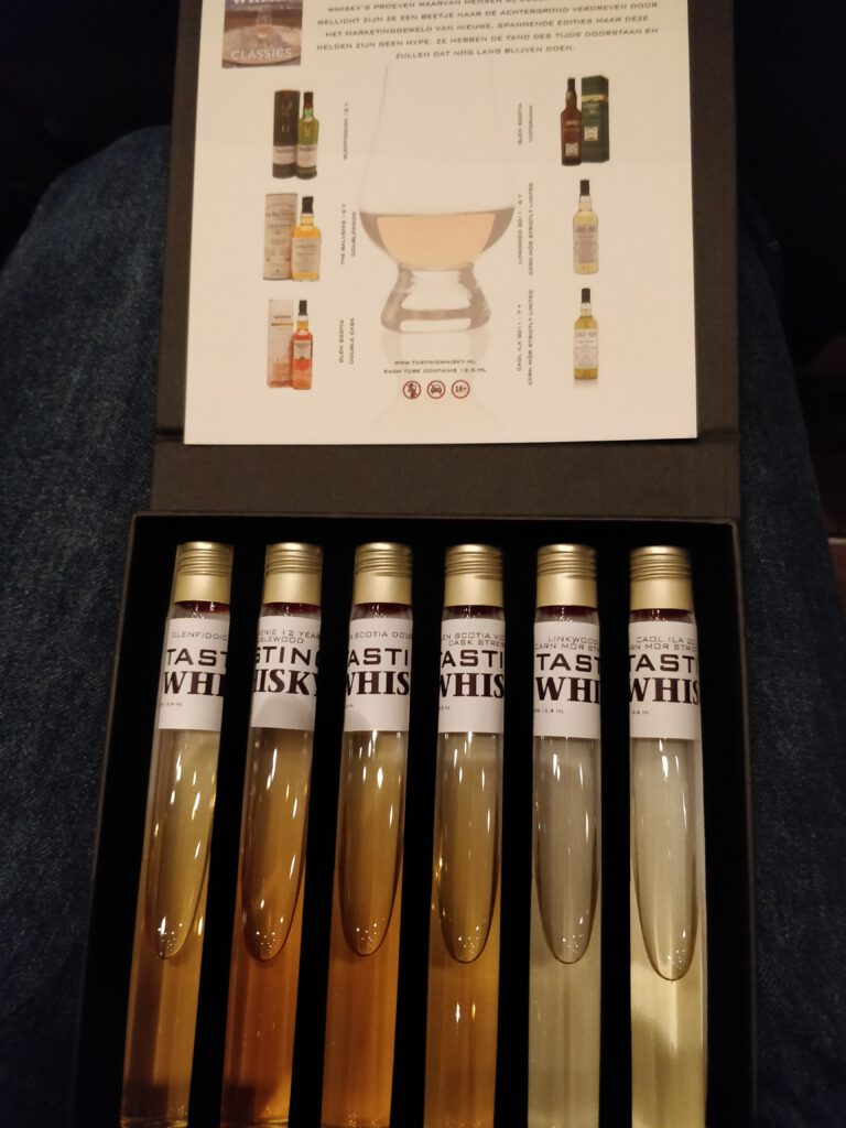 Tasting Whisky - The Classics; The Tubes
