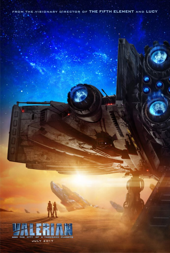 Film : Valerian and the City of a Thousand Planets (2017)