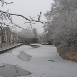 De Leidsewallen in de winter (Simon Jansen)