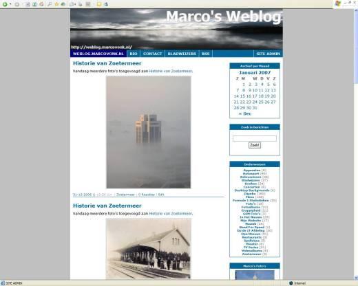 Marco's Weblog (01-06-2006)